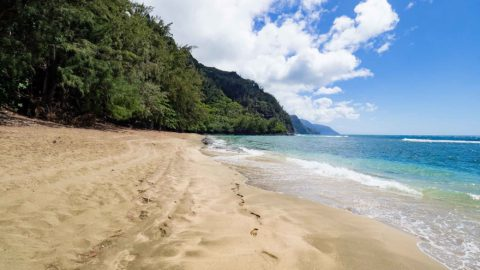 Kee Beach Is A Kauai Favorite