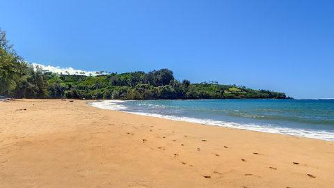 Kalihiwai Beach Starts A Perfect Day On The North S Kauai