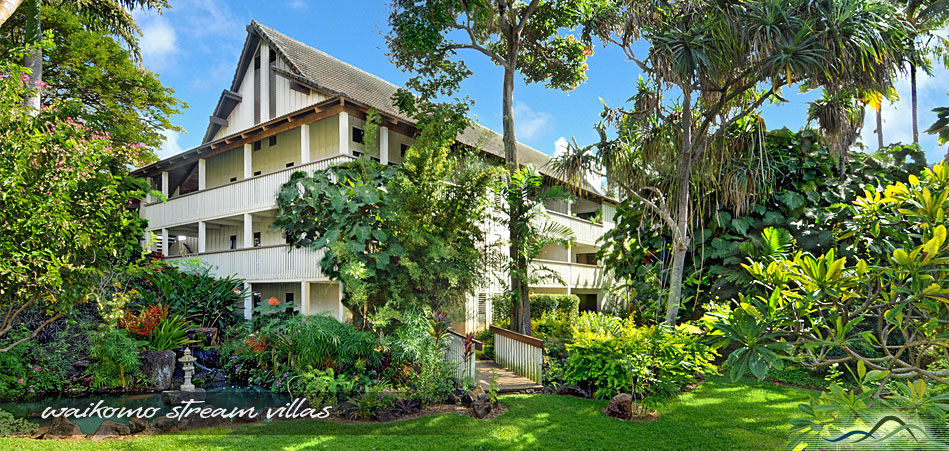 Waikomo Stream Villas Summer Deals on Kauai Condos