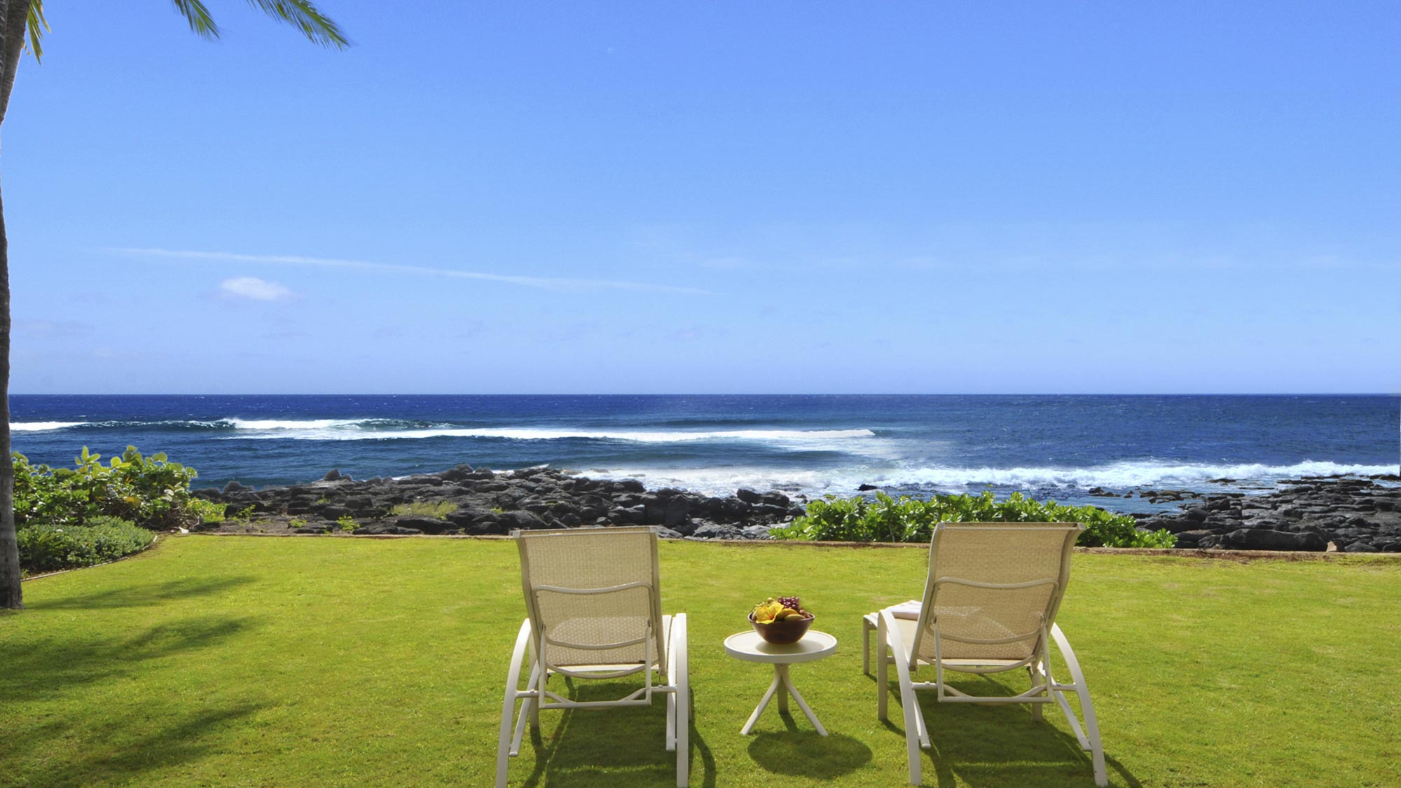 Hale Ilikai at Poipu - Oceanfront Lounge with Amazing Views - Parrish Kauai