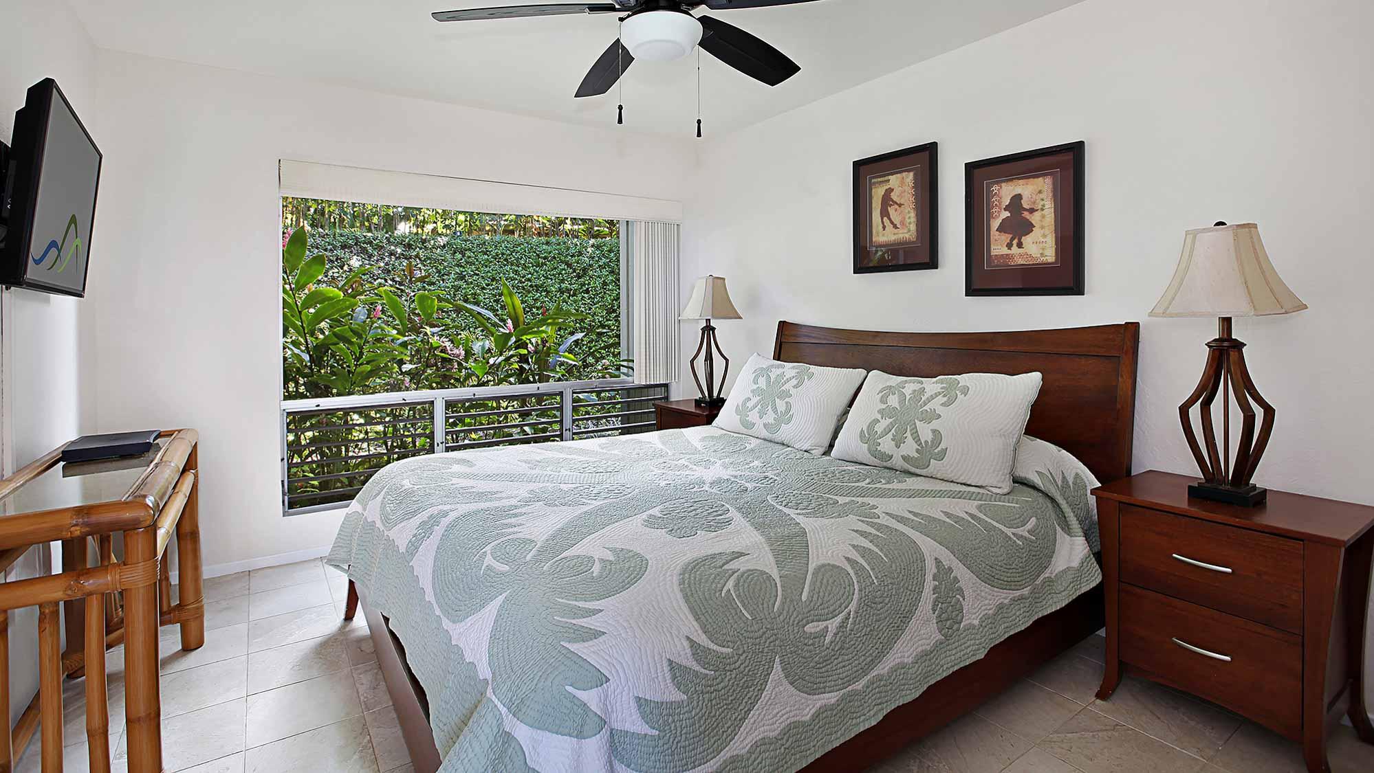 Pali Ke Kua #143 - Master Bedroom Suite - Parrish Kauai