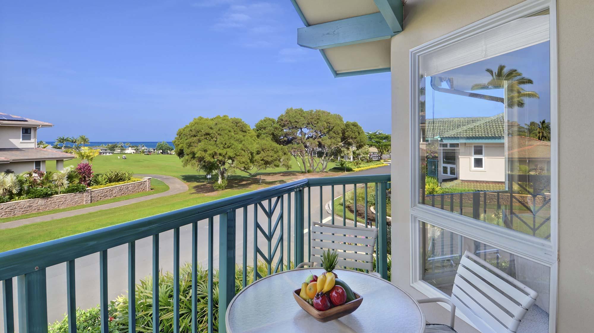 Villas on the Prince #39 - Ocean View Lanai - Parrish Kauai