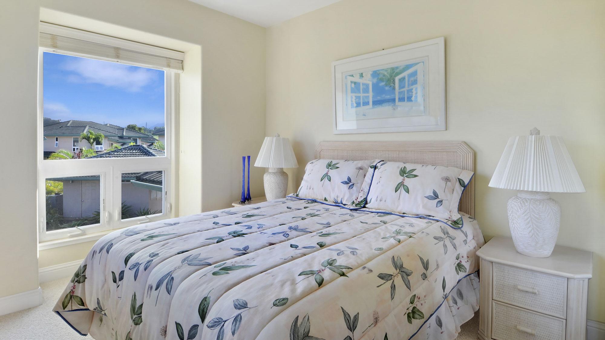 Villas on the Prince #39 - Third Guest Bedroom - Parrish Kauai
