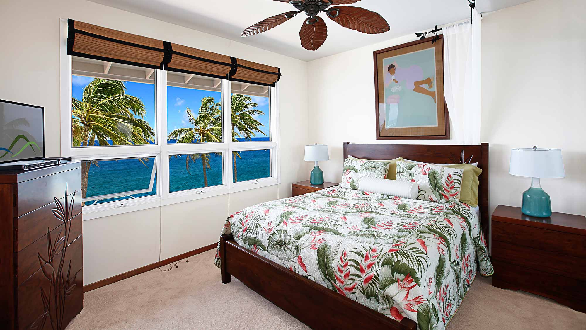 Whalers Cove at Koloa Landing #137 - Master Bedroom Suite - Parrish Kauai