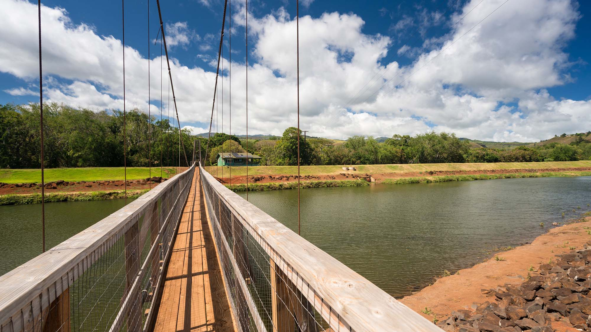 Hanapepe Swinging Bridge Things To Do On Kauai