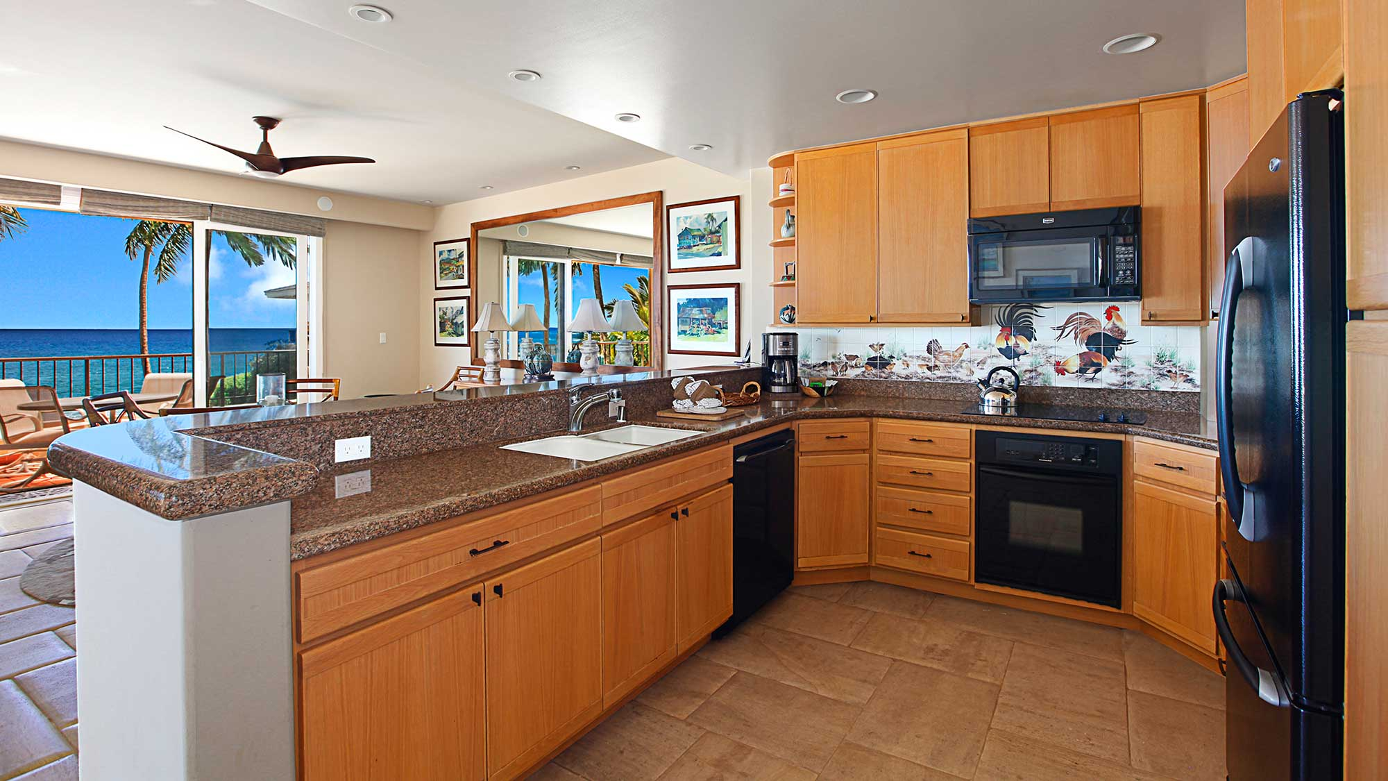 Whalers Cove at Koloa Landing #221 - Fully Equipped Kitchen - Parrish Kauai