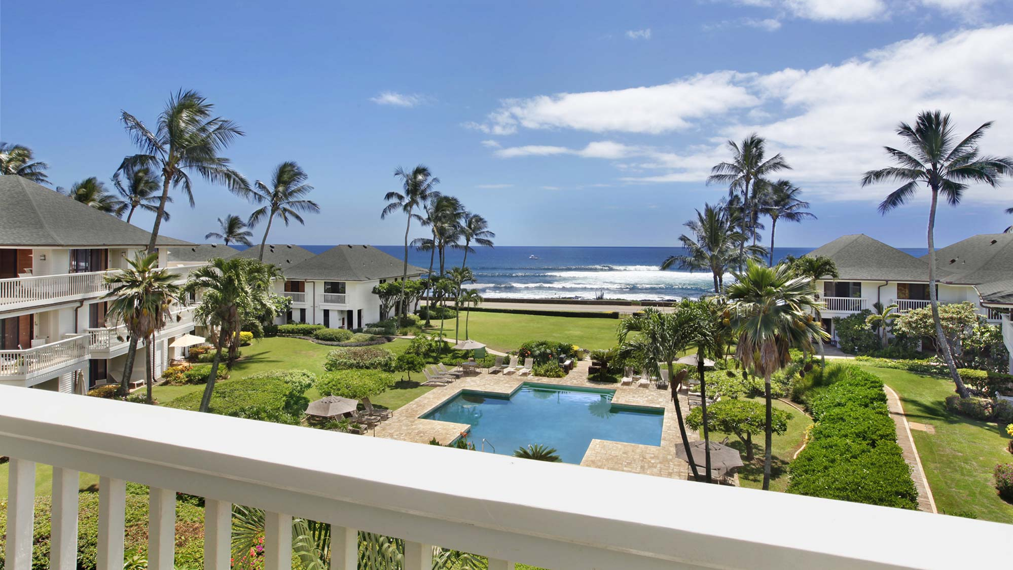 Poipu Kapili Resort #27 - Ocean View Penthouse Lanai View - Parrish Kauai