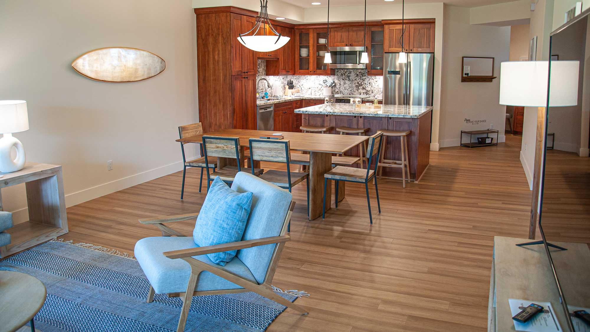 Pili Mai Resort at Poipu #05J - Open Great Living Room - Parrish Kauai