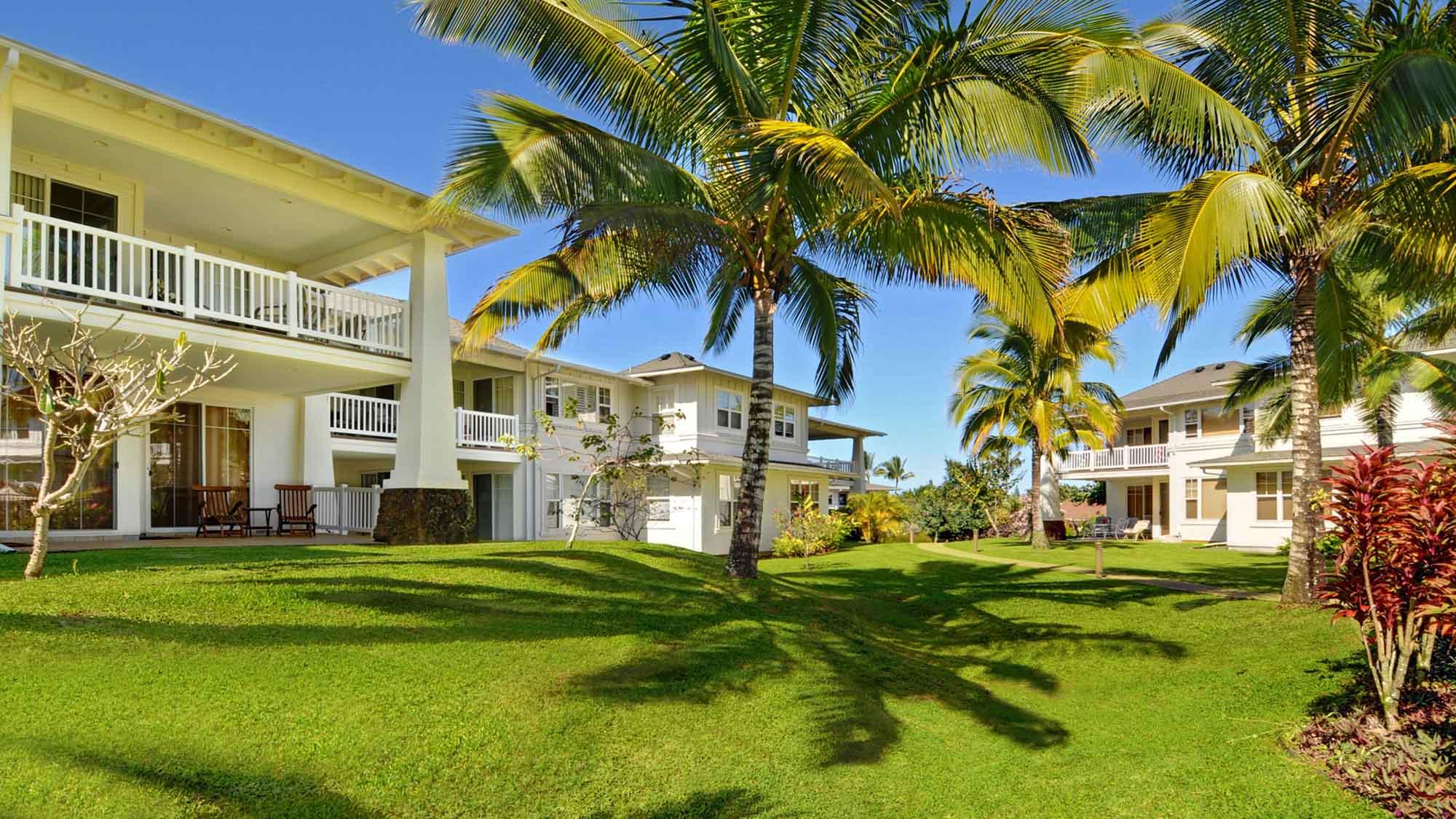 Plantation at Princeville - Lush Tropical Landscape - Parrish Kauai